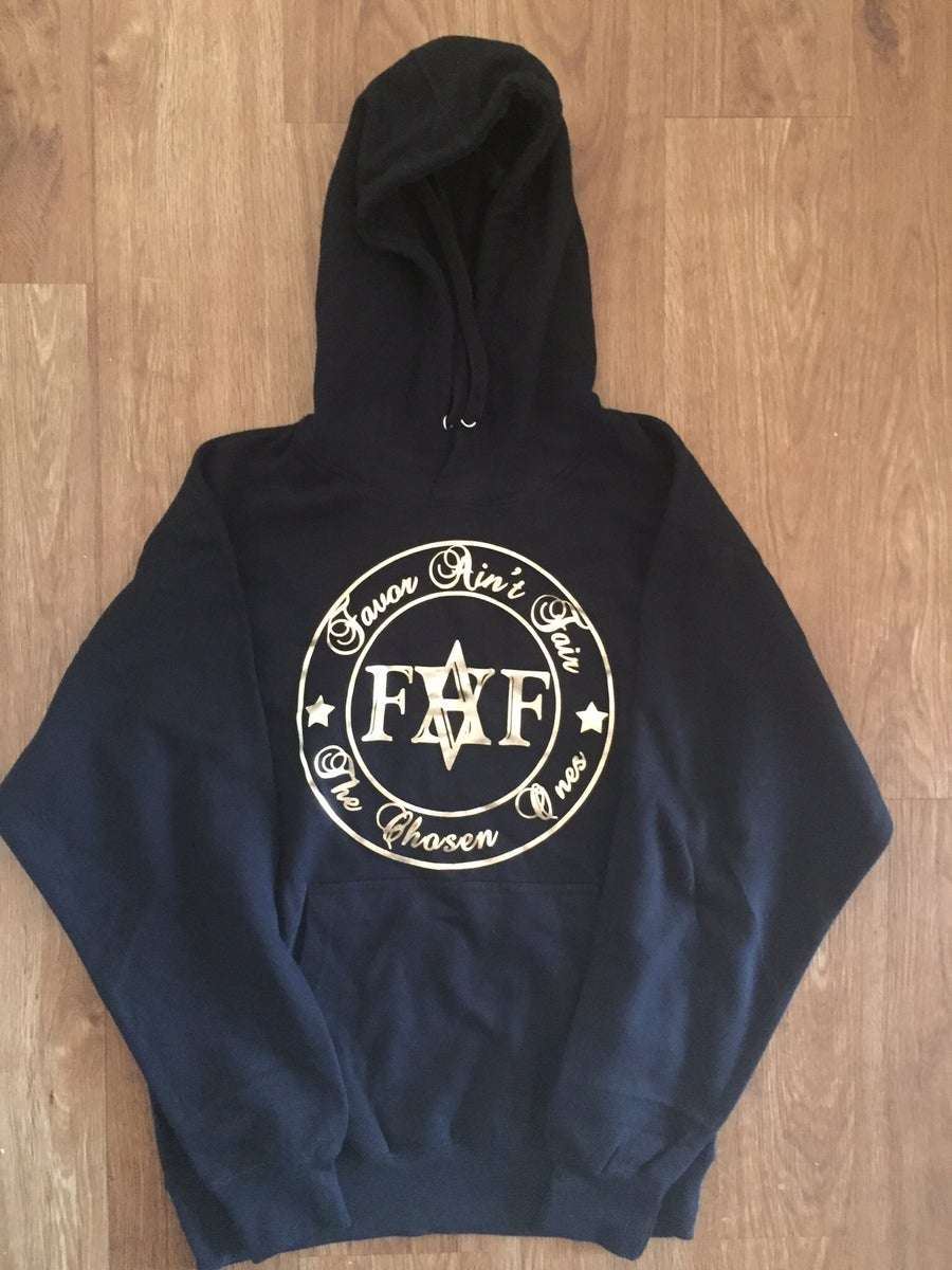 Image of FAF Black and Gold hoodie (color options)
