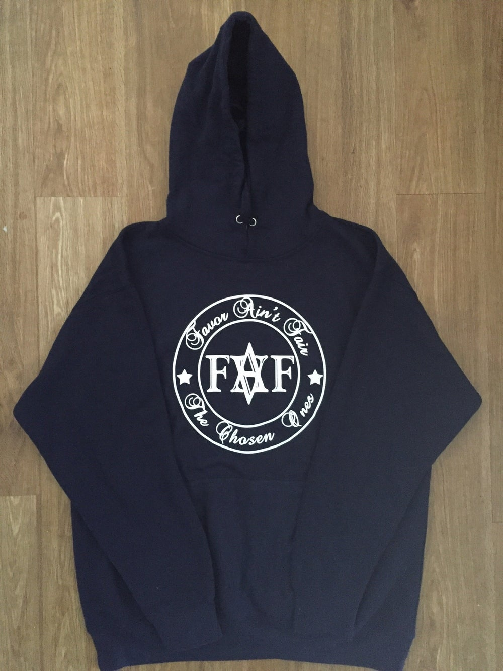 Image of Navy FAF hoodie ( color options)
