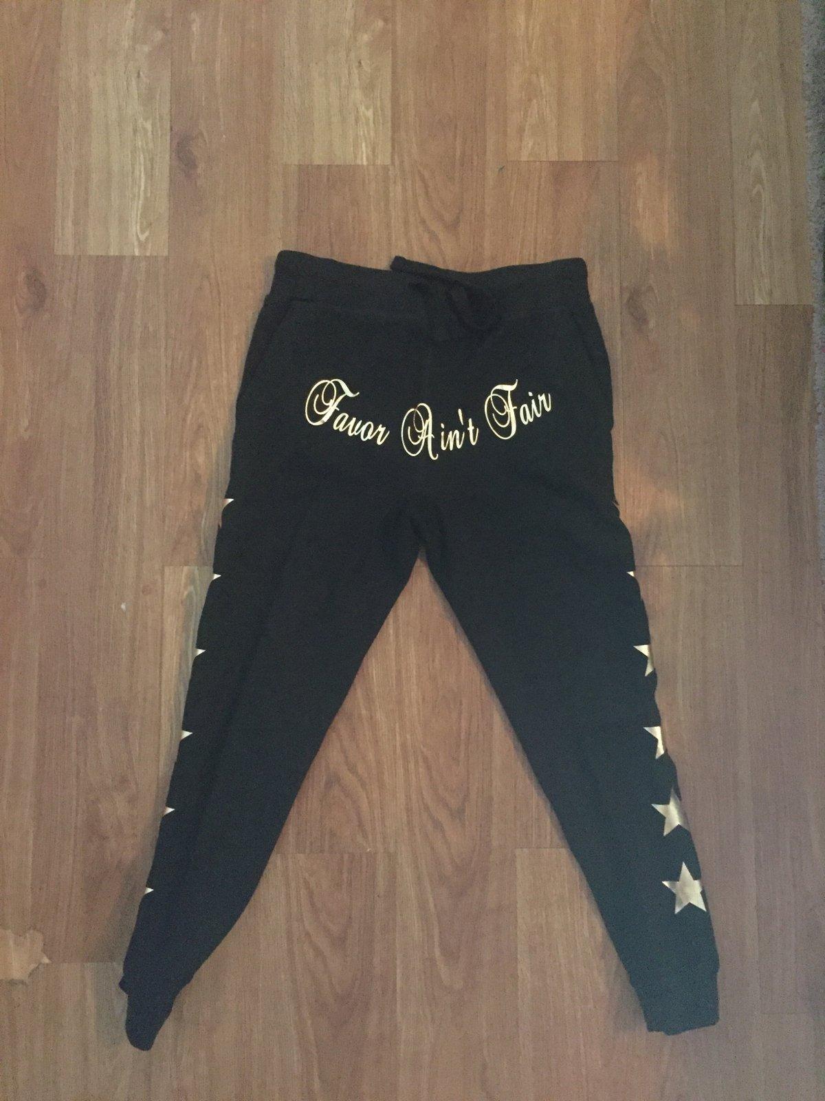 Image of Black Gold sweat suit(unisex).... COLORS OPTIONS
