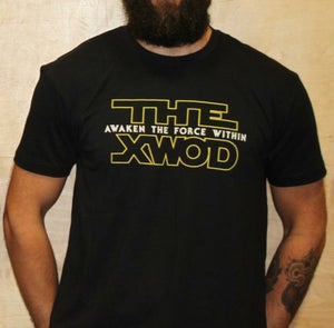 Image of Awaken The Force Within - BLACK/YELLOW Unisex Tee