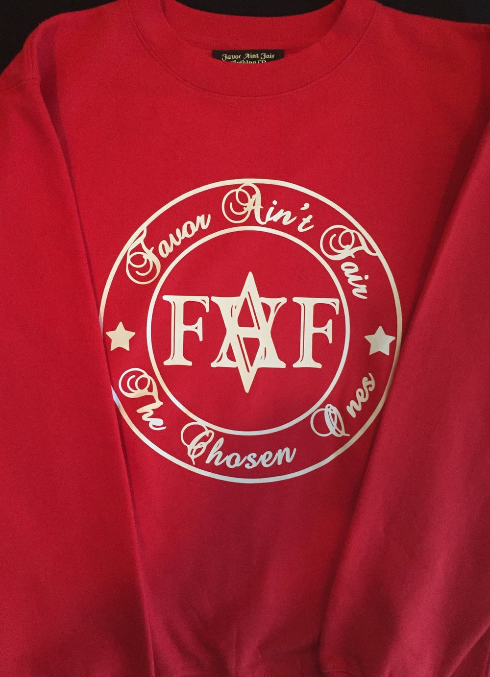 Image of Red FAF sweat shirt (color options)