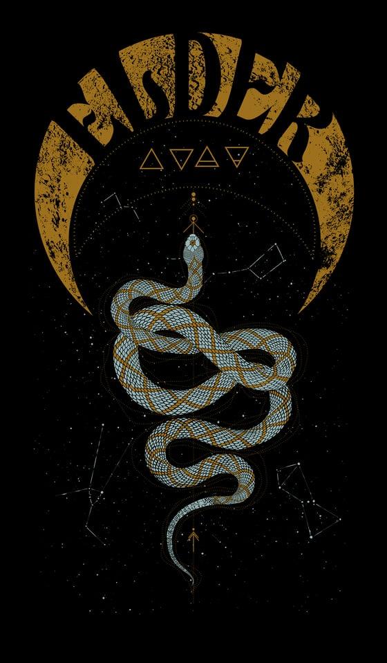 Image of Snake/Moon T-shirt