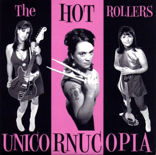 Image of FR025 Hot Rollers Unicornicopia 7""