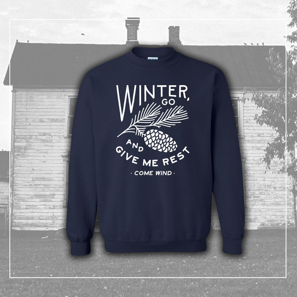 "Image of ""Winter"" Crew Neck Sweatshirt"