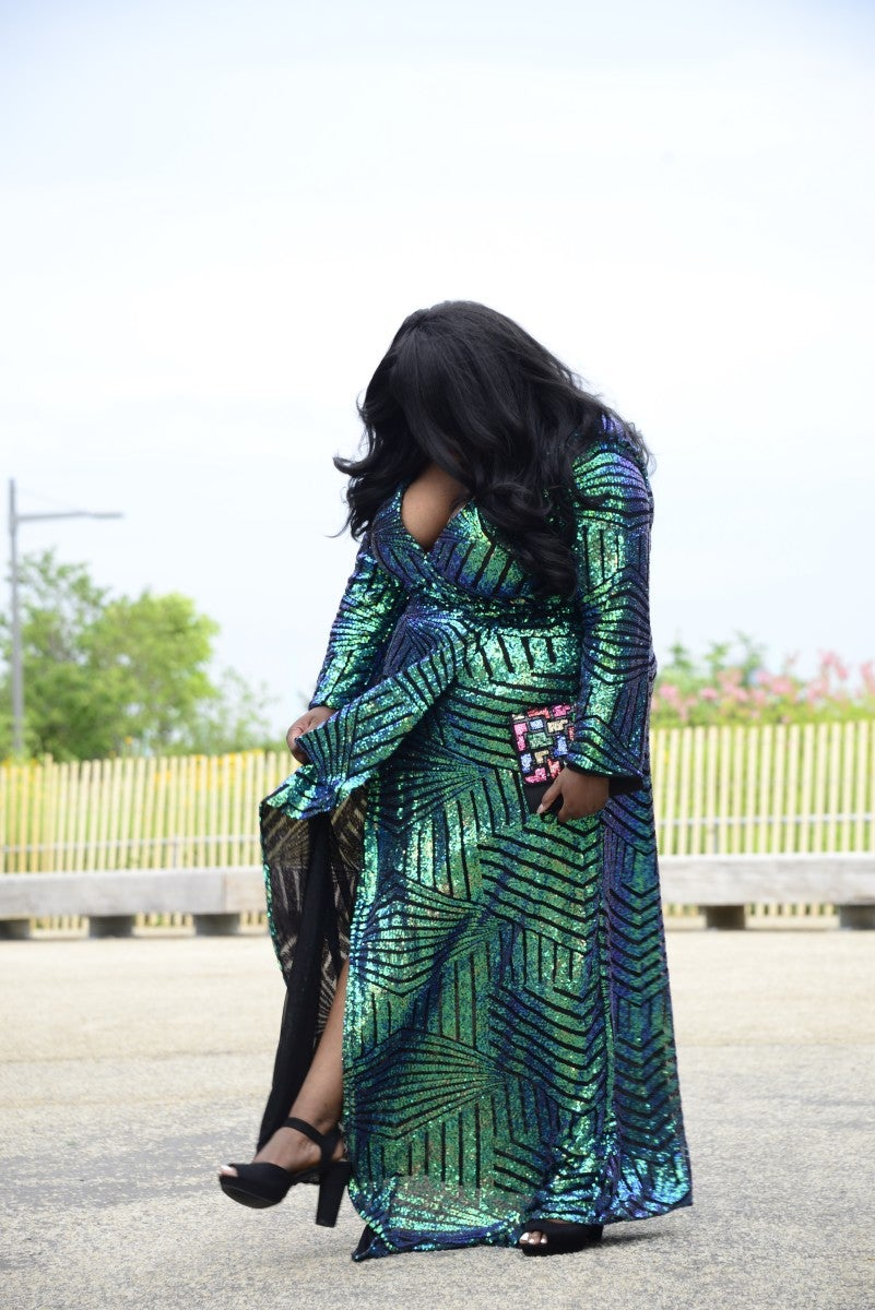 Image of Sequin Gown