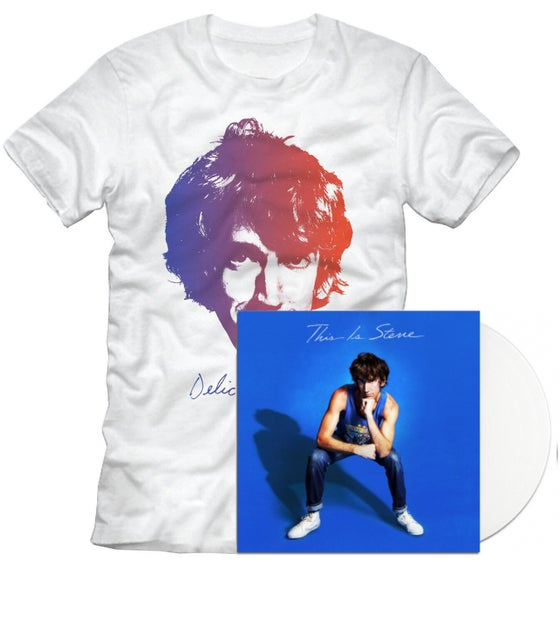Image of This Is Steve [White Vinyl + Shirt bundle]