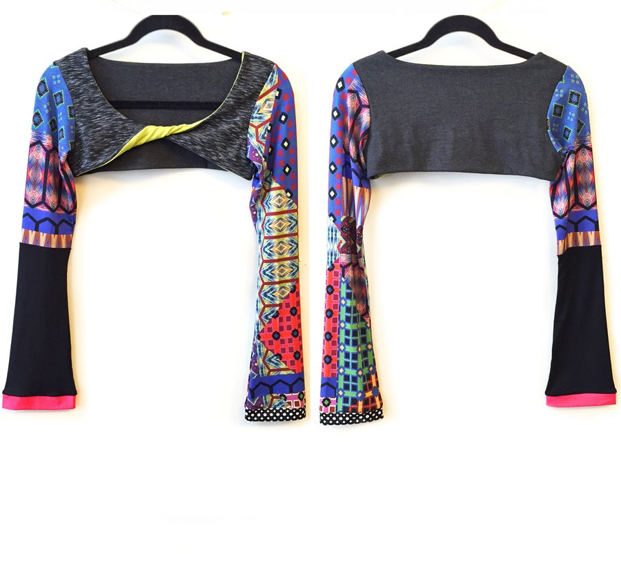 Image of Dance Boho Twisted Sports Shrug