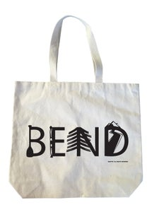 Image of Bend Activity Letters Heavyweight Gusseted Tote