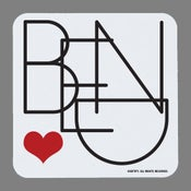 Image of Bend Heart Coasters - set of 4