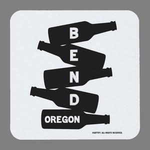 Image of Bend Beer Stack Coasters - set of 4