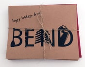 Image of Happy Holidays from Bend set of 8 Note Cards