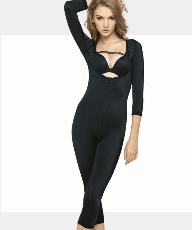Full Body Shaper Compression Suit W Zipper