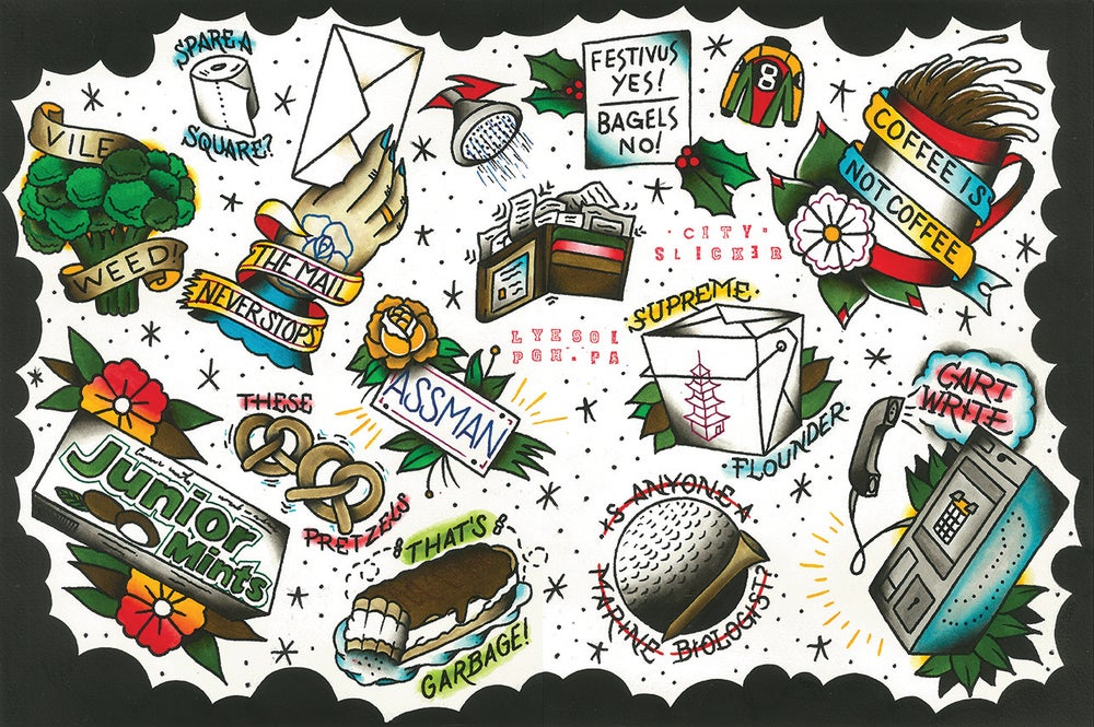 "Image of ""Can't Stand Ya"" Seinfeld Flash Sheet by Lyesol"