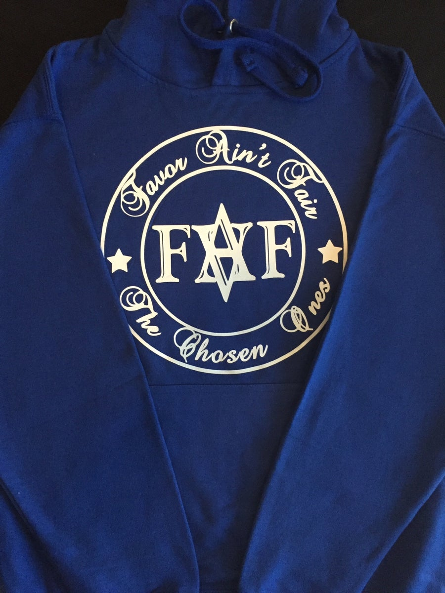 Image of Blue FAF hoodie (color options