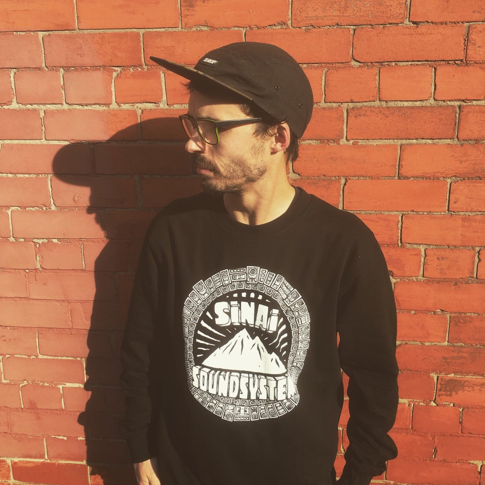 Image of Sinai Sound x Tribes Sweatshirt - Black