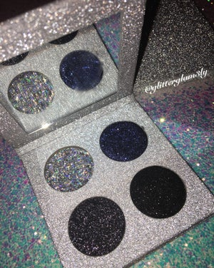 "Image of ""Moon Frost"" Glitter Quad"