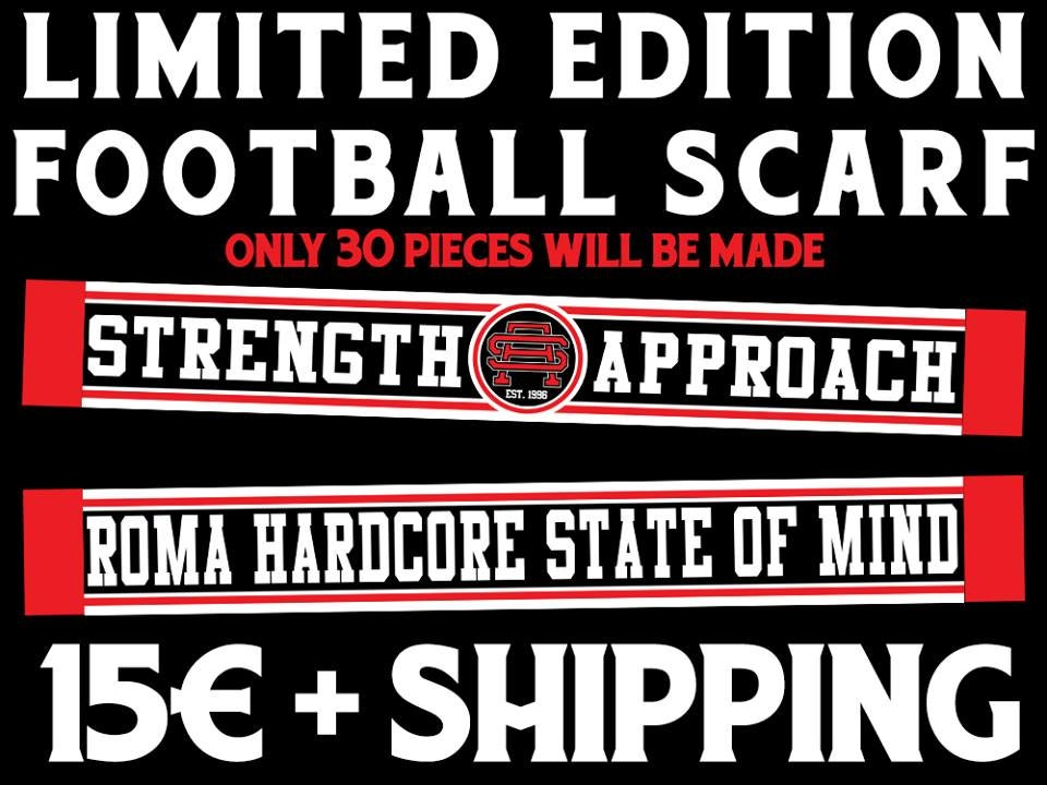Image of Strength Approach limited edition football scarf