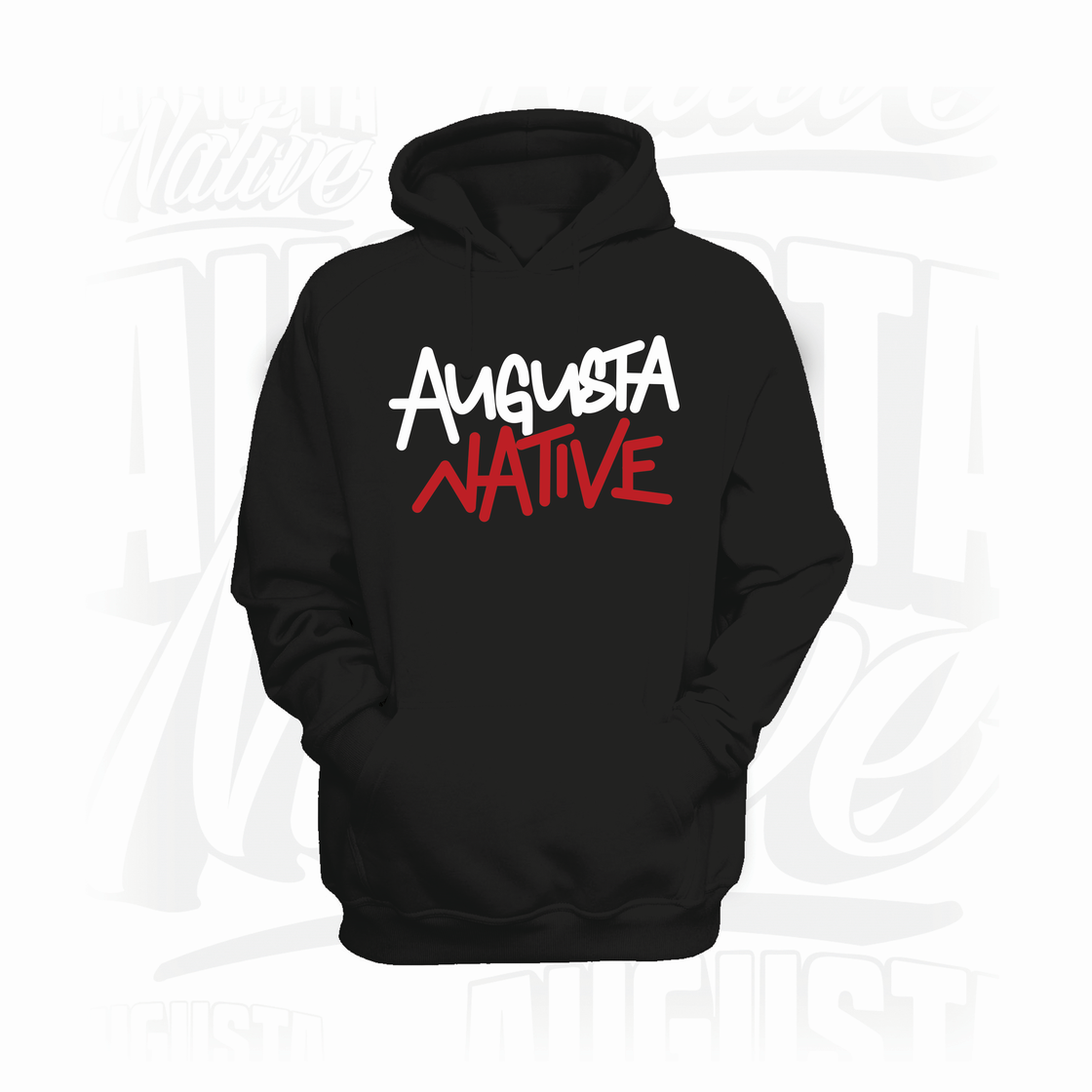 Image of 2nd GENERATION HOODIE (Blk/White/Red)