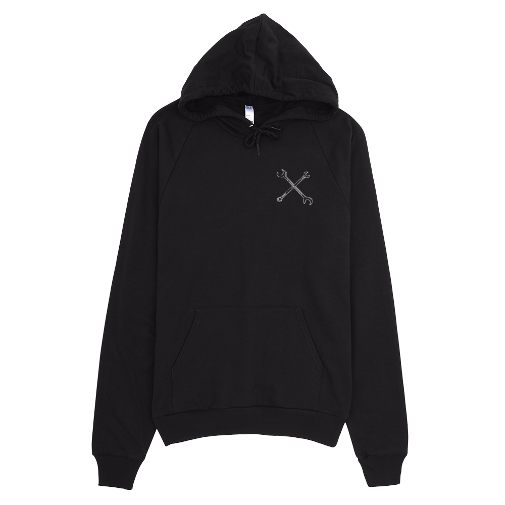 Image of Wrench On Pullover Black