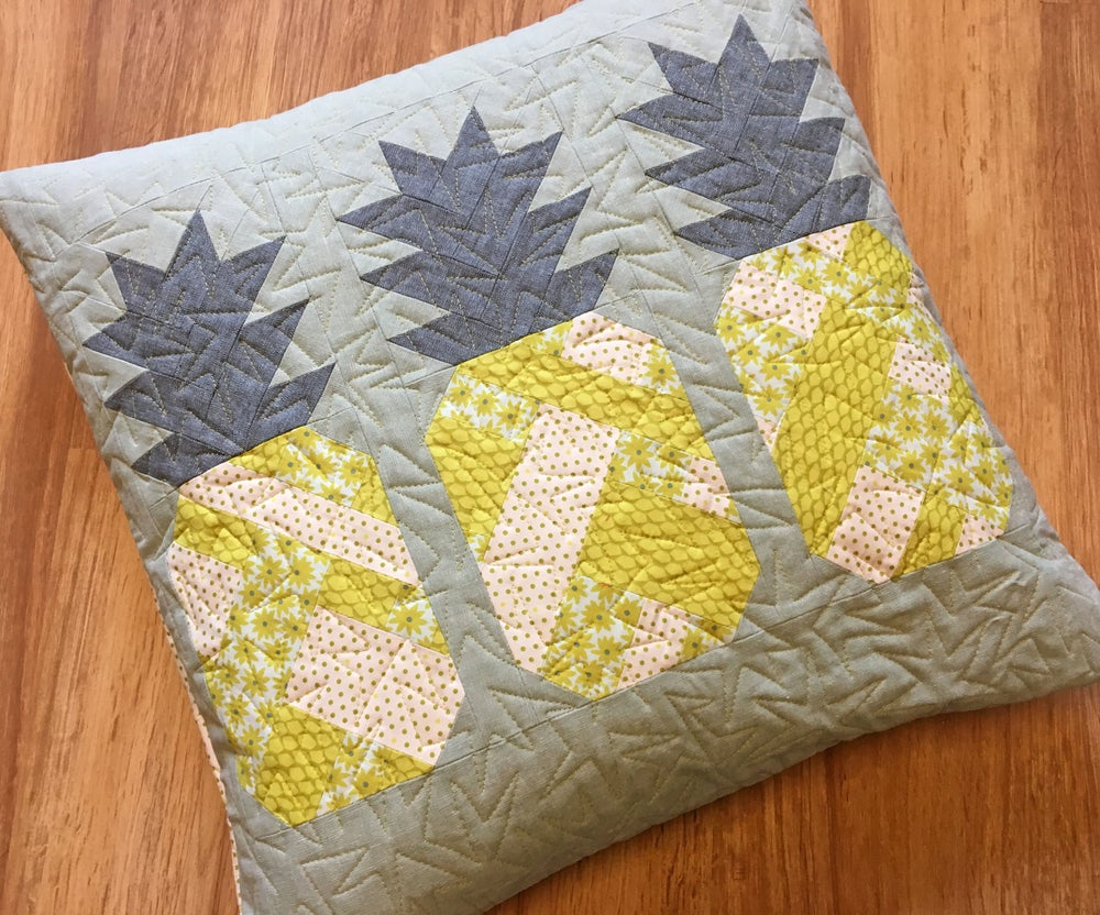 Patterns By Elizabeth Hartman Pineapple Farm Pdf Quilt And Pillow