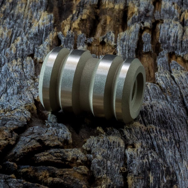 Image of Tank Blasted & Machined Brass Bead