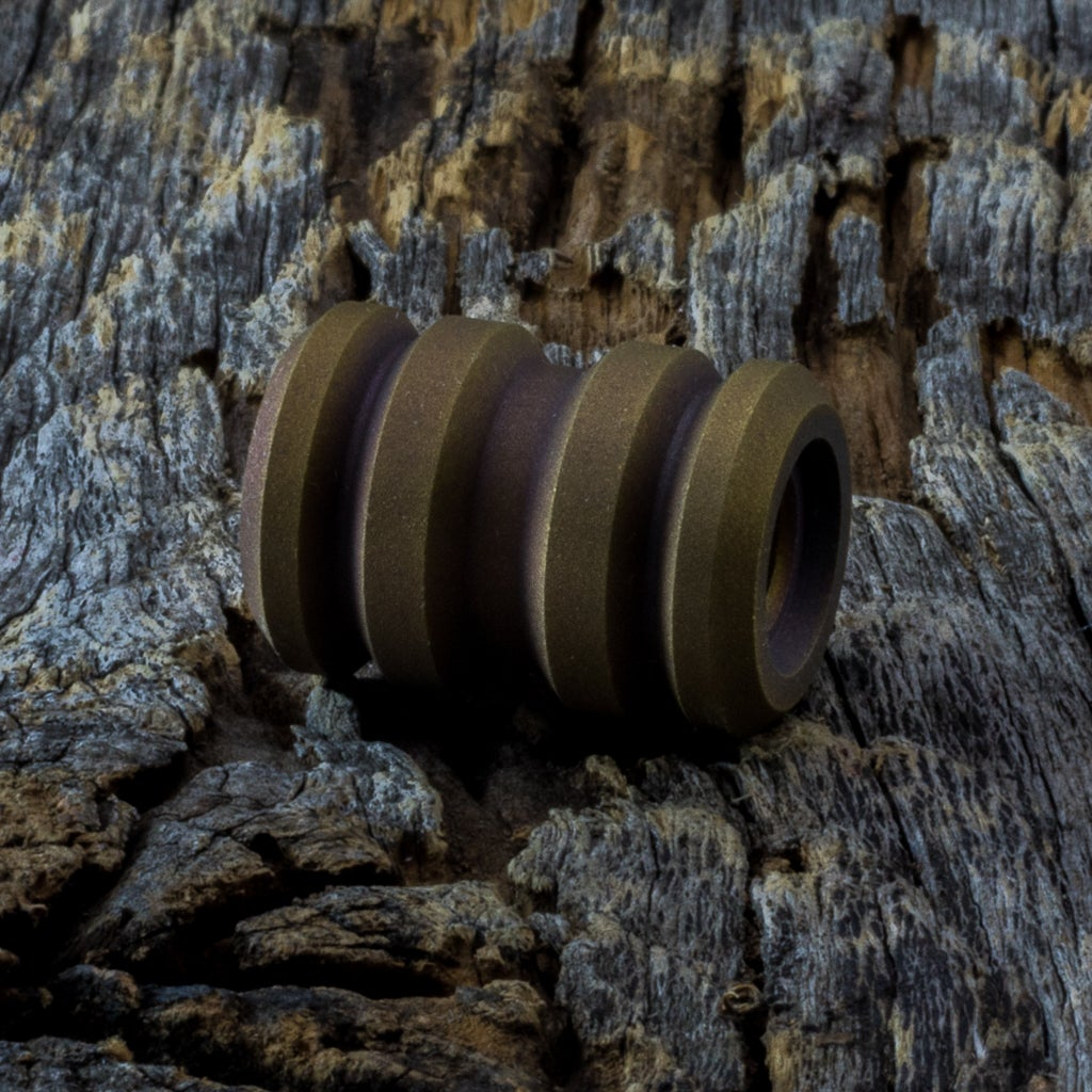 Image of Tank Blasted Bronze Bead