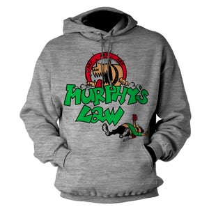 "Image of MURPHY'S LAW ""Tanked"" Heather Gray Hoodie"
