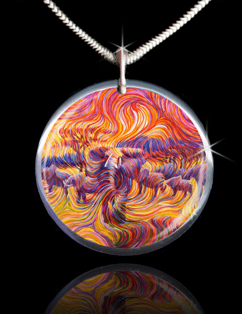 Image of Elephant Spiritual Protector Energy Pendant