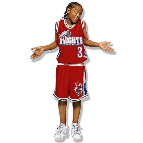 "Image of LIL BOW WOW ""CAMBRIDGE"" #3 LIKE MIKE BASKETBALL  JERSEY"