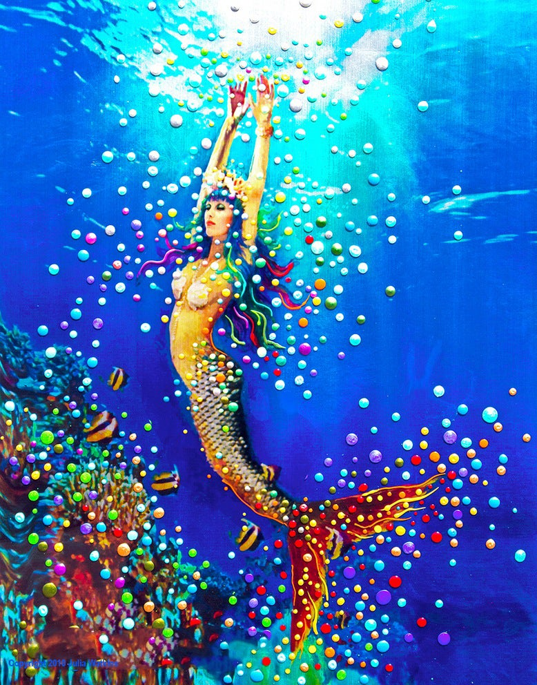 Image of Mermaid Dream - Giclee Print