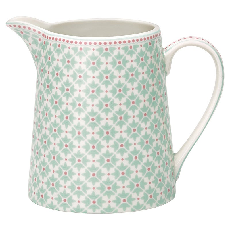 Image of GreenGate Jug ~ Jill Mint