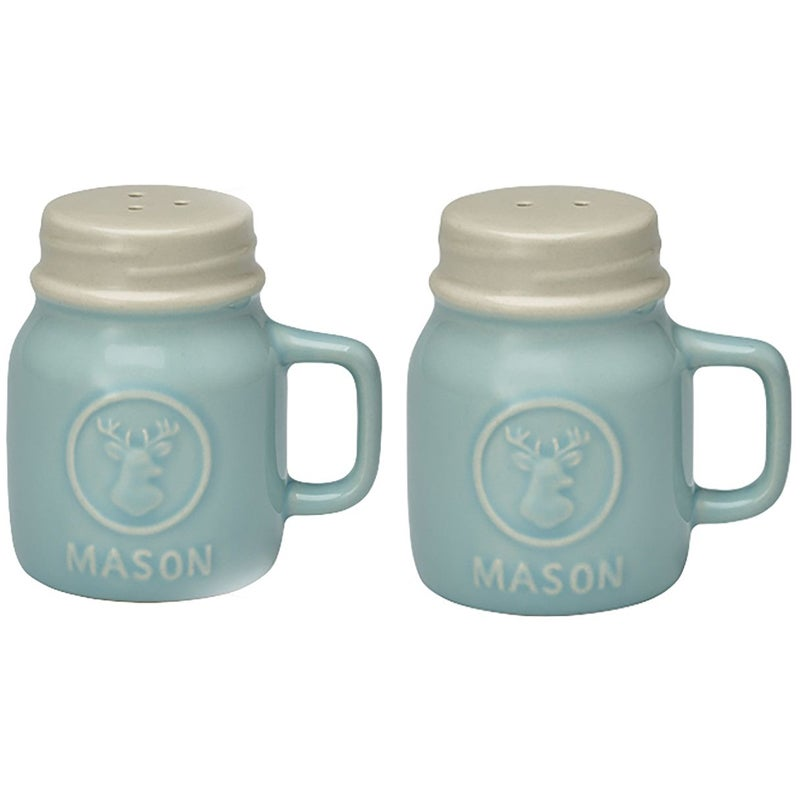 Image of GreenGate Salt & Pepper Set ~ Maison Mint