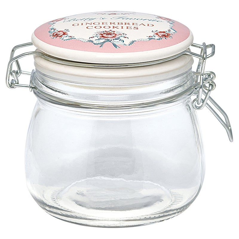 Image of GreenGate Glass Storage Jar ~ Small ~ Two Designs