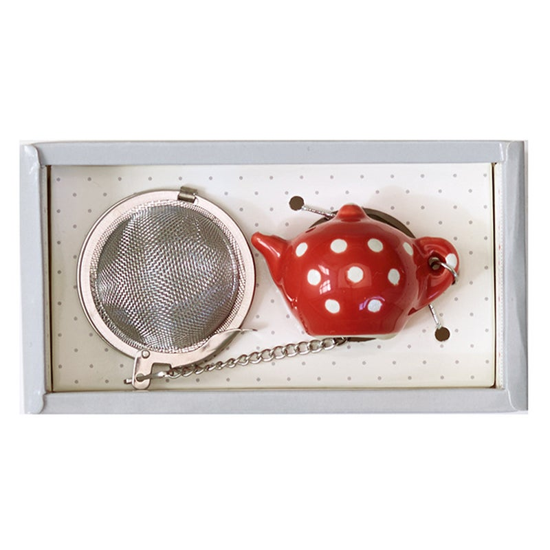 Image of GreenGate Tea Infuser ~ Vilma Warm Red
