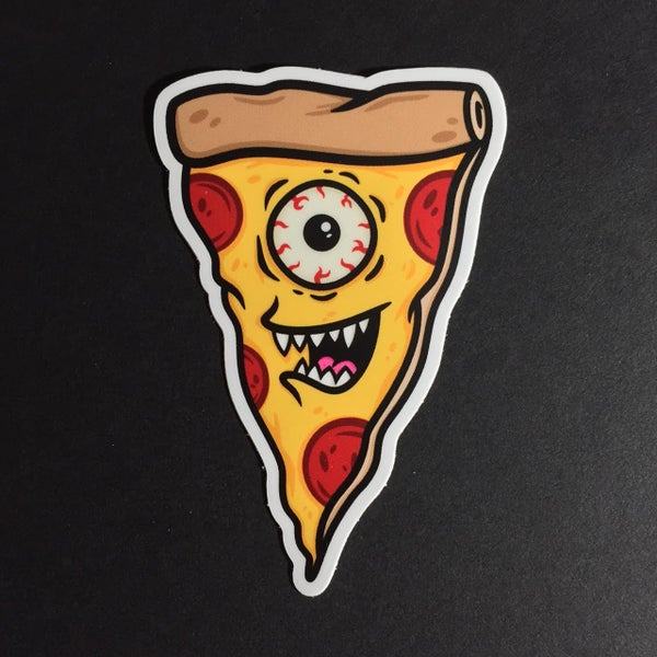 Image of Pizza Monster Sticker