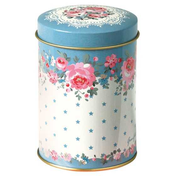 Image of GreenGate Tin Flour Shaker ~ Simone Blue