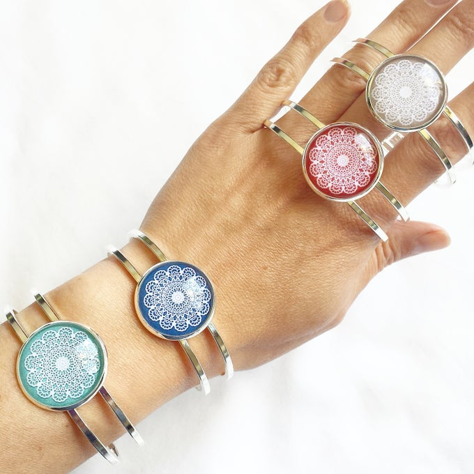 Image of NEW! Bangle - Mandalas
