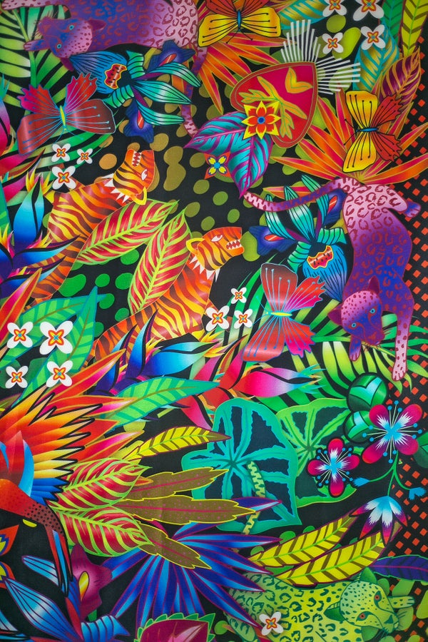 Image of Jungle Silk Scarf