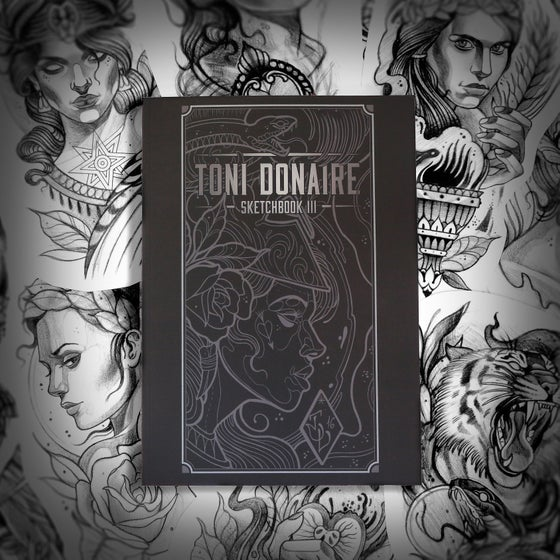 Image of Toni Donaire Sketchbook 3