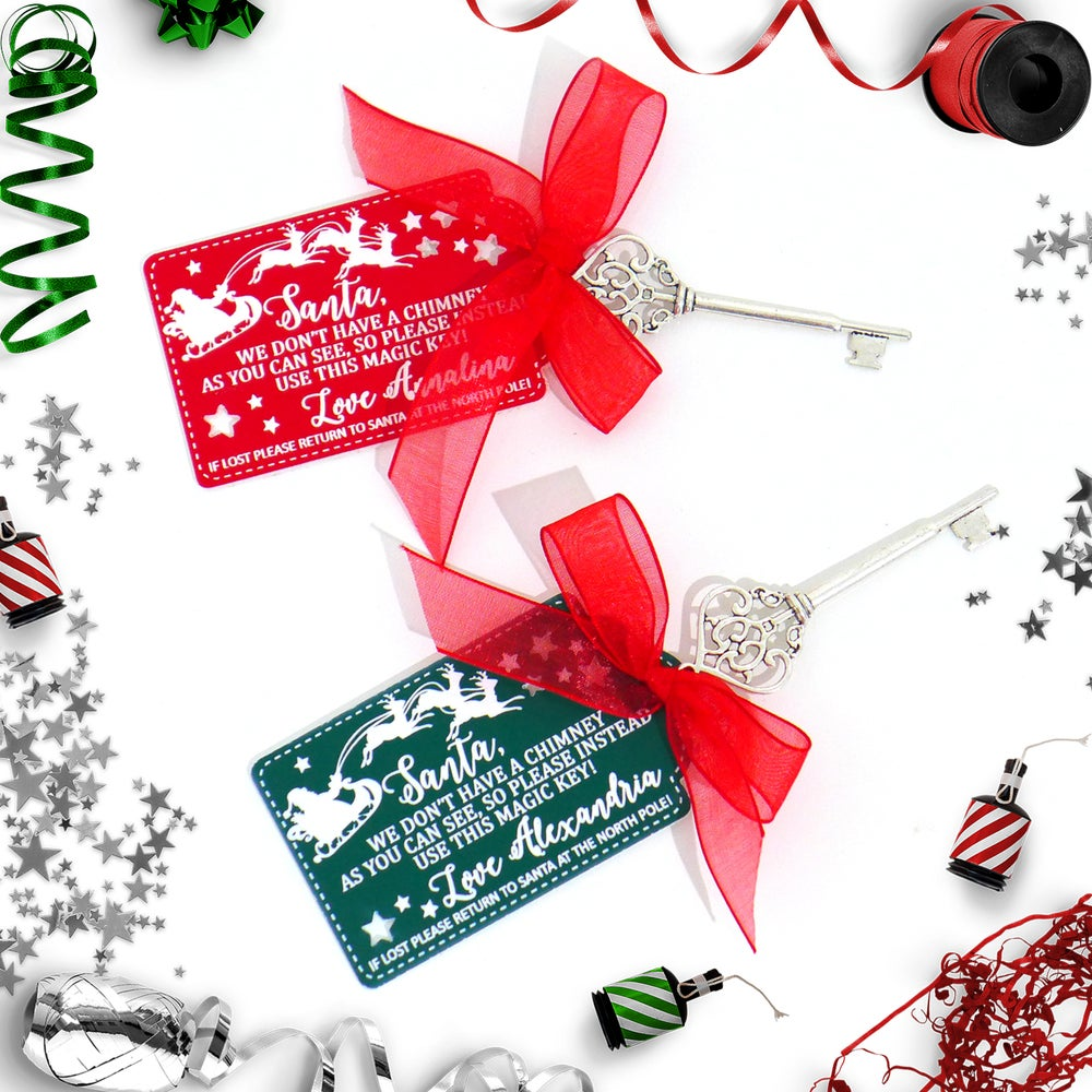 Image of Personalised Santa's Magic Key