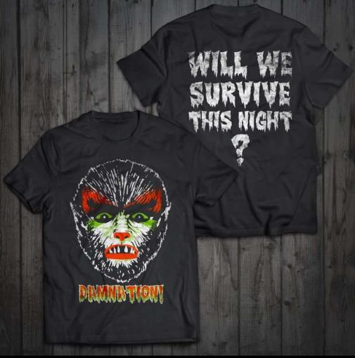 """Image of Limited run """"Chamber a Silver Bullet"""" halloween edition tshirt"""