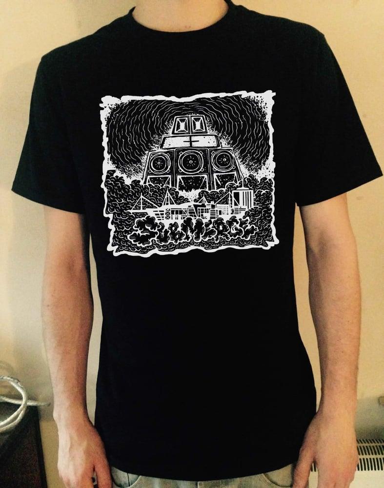 Image of SUBMERGE SOUNDSYSTEM T-Shirt (Black)