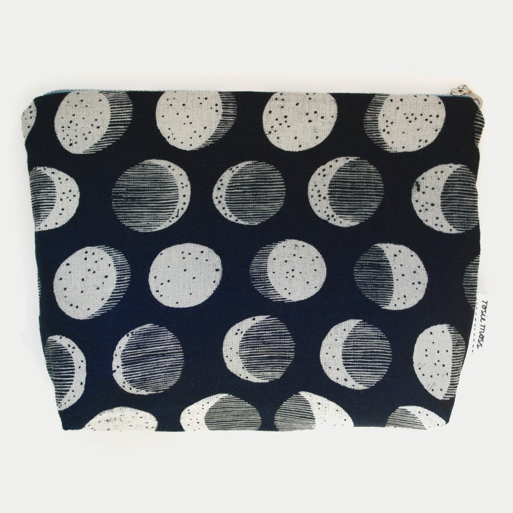 Image of 'Moon Phase' Cosmetic Bag