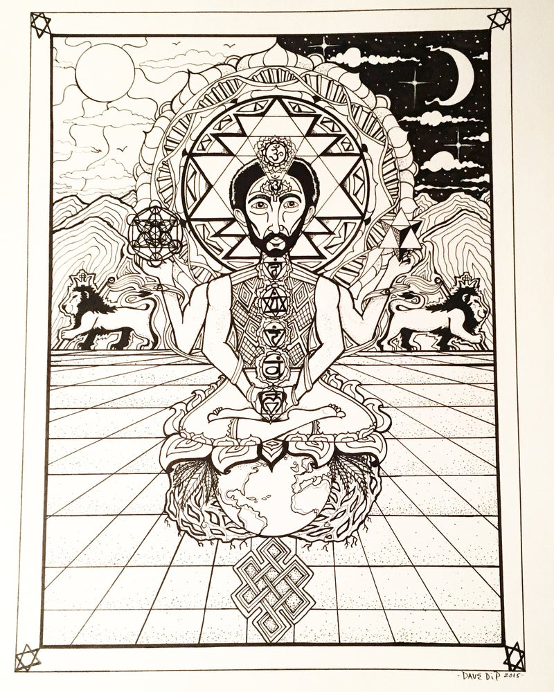 Image of Higher Vibrations print