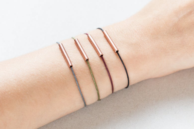 Image of Copper Tube Bracelet