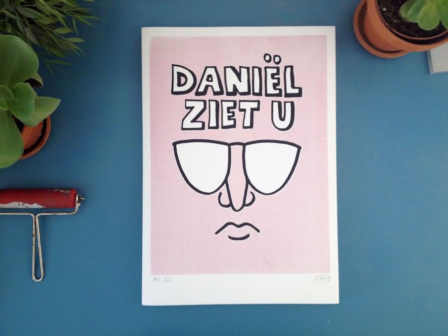 Image of Daniël ziet u