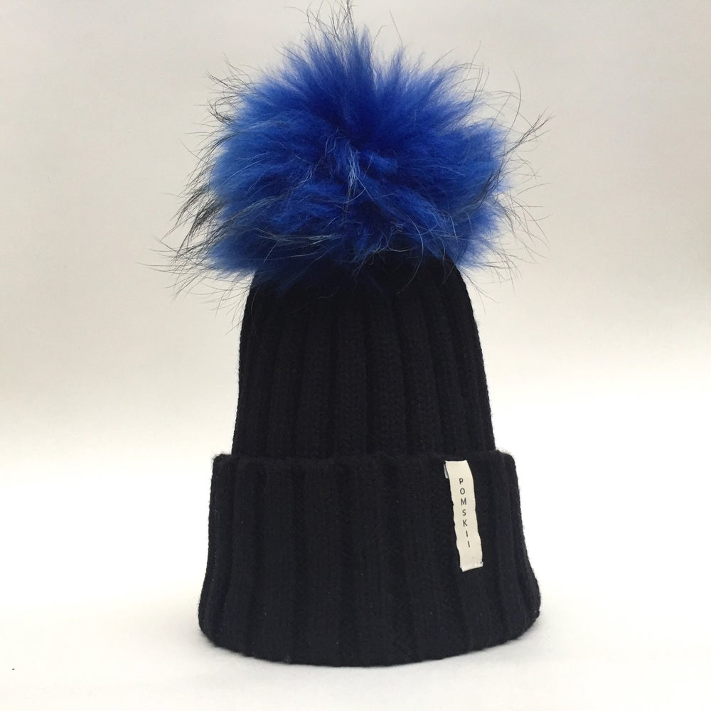 Image of Royal Blue Pom Pom