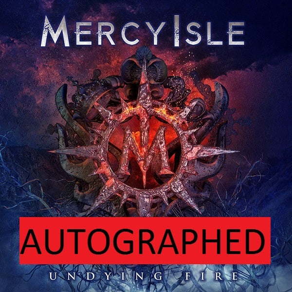 Image of AUTOGRAPHED Undying Fire CD