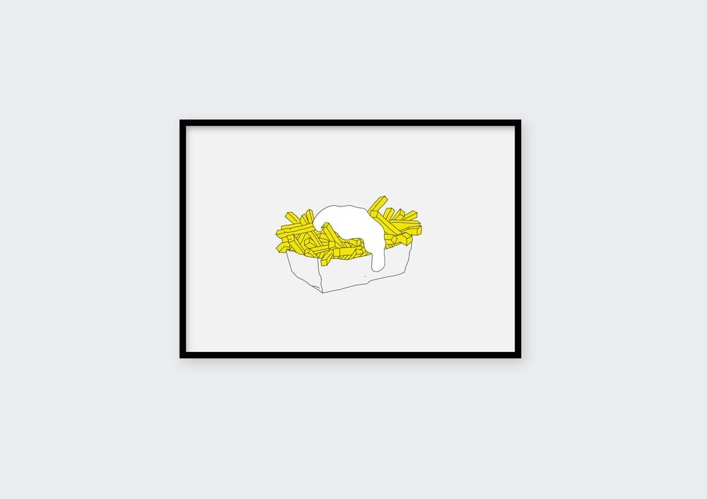Image of Kleintje met mayonaise
