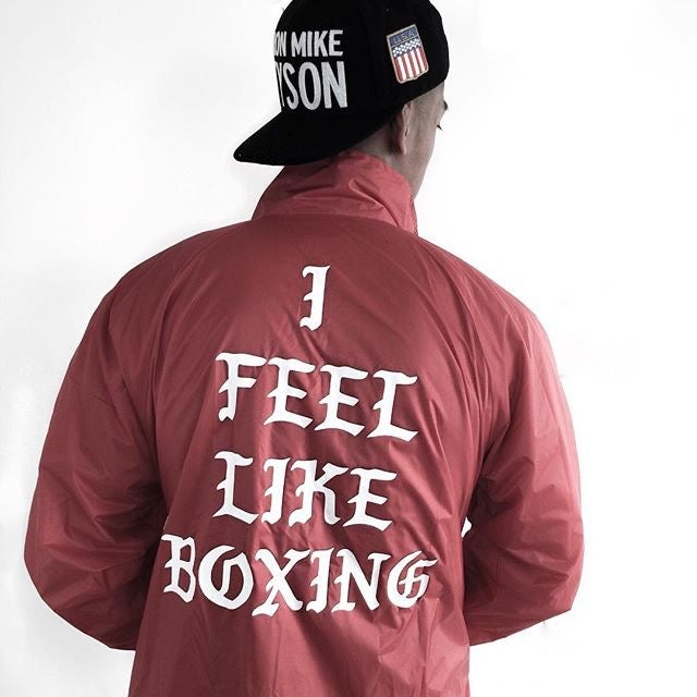 Image of Royal Blue Lined Limited Edition I feel Like Boxing jackets